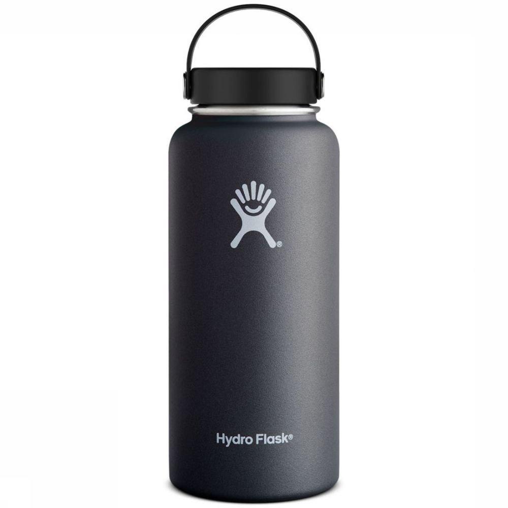 Hydro Flask Isolatiefles 32oz-946ml Wide Mouth Zwart