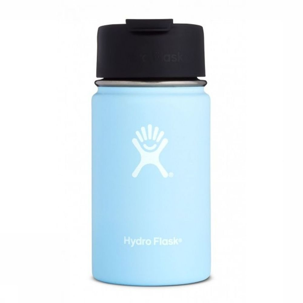 Hydro Flask Isolatiefles 12oz-354ml Wide Mouth Coffee Blauw