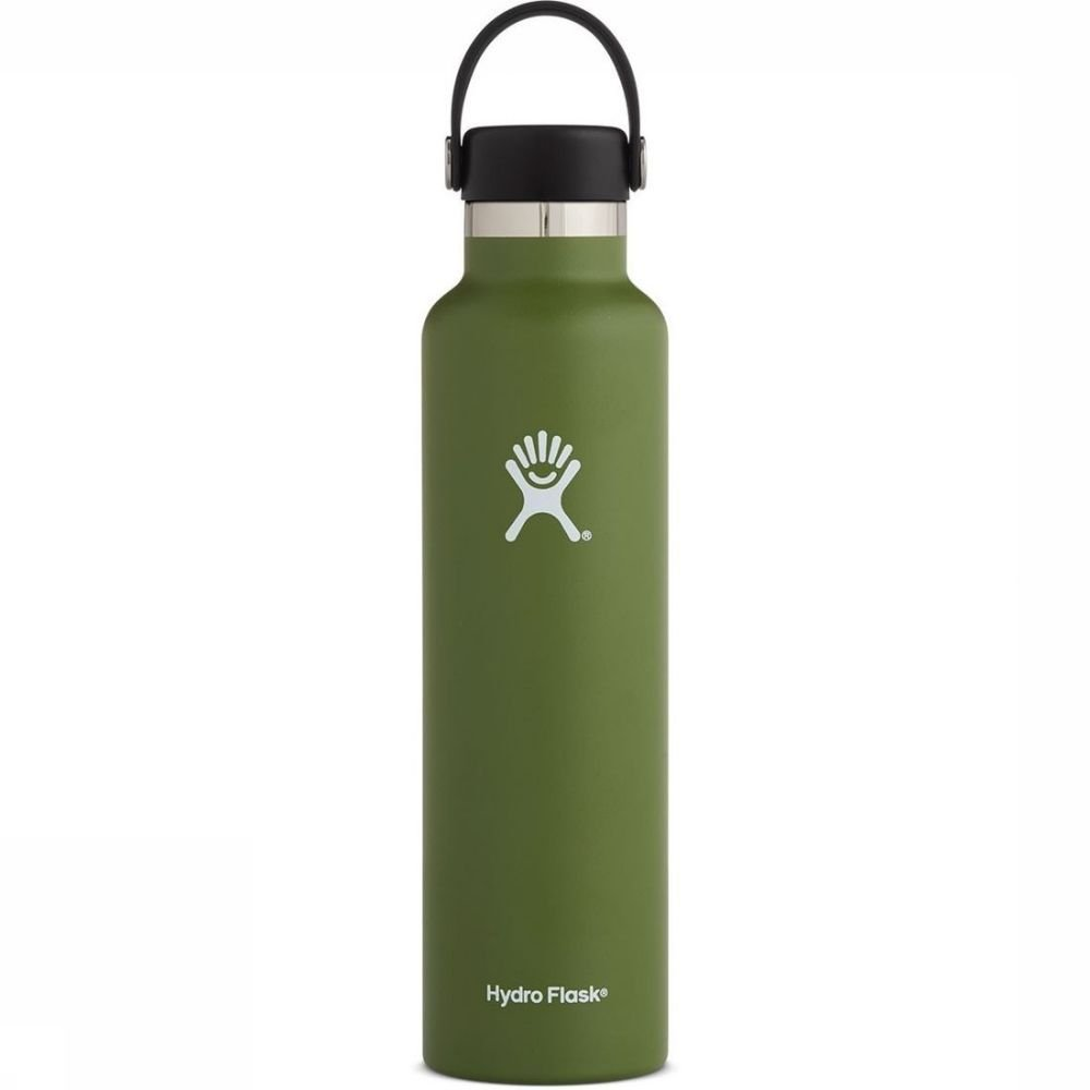 Hydro Flask Isolatiefles 24oz-709ml Standard Mouth MiddenGroen