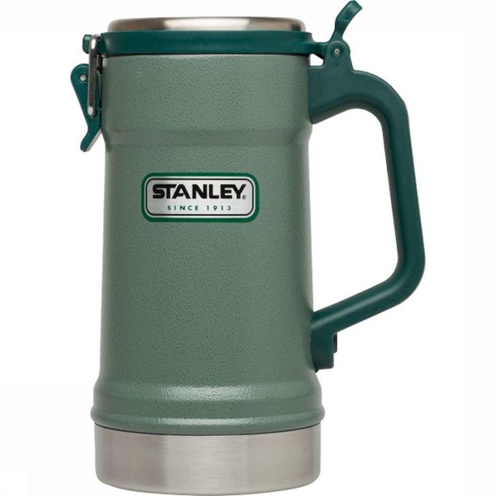 Stanley Isolatiefles Classic Vacuum Stein - Kaki