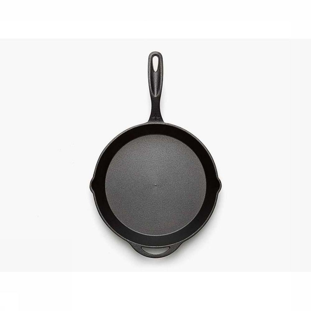 """Afbeelding van Barebones Living Pan Skillet 12\"""" - Zwart"""