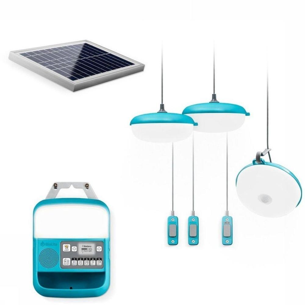 Afbeelding van BioLite Gadget Solarhome 620 - Blauw