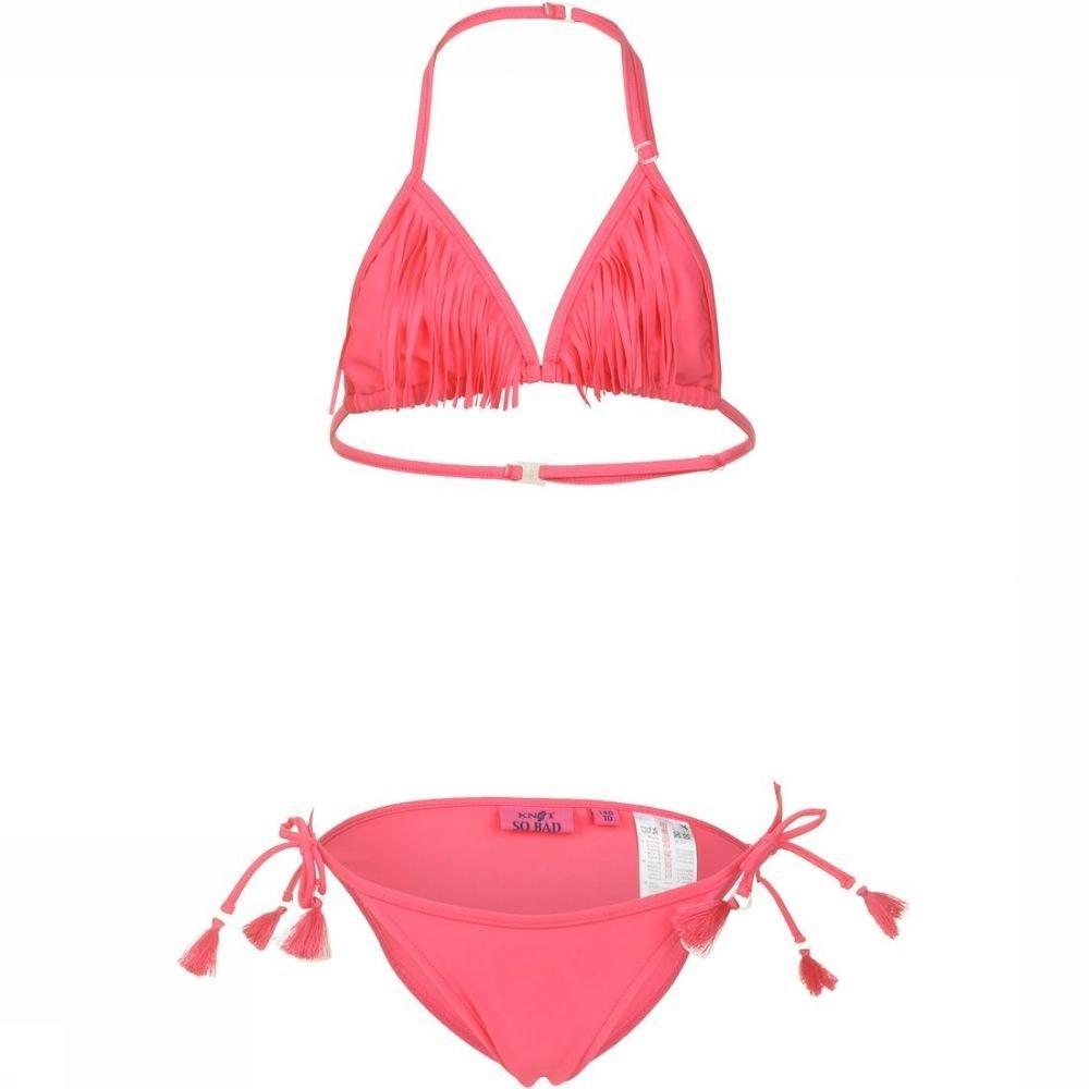 Knot so bad Bikini Z17-9501 voor meisjes - Roze - Maat: 164 - Sale