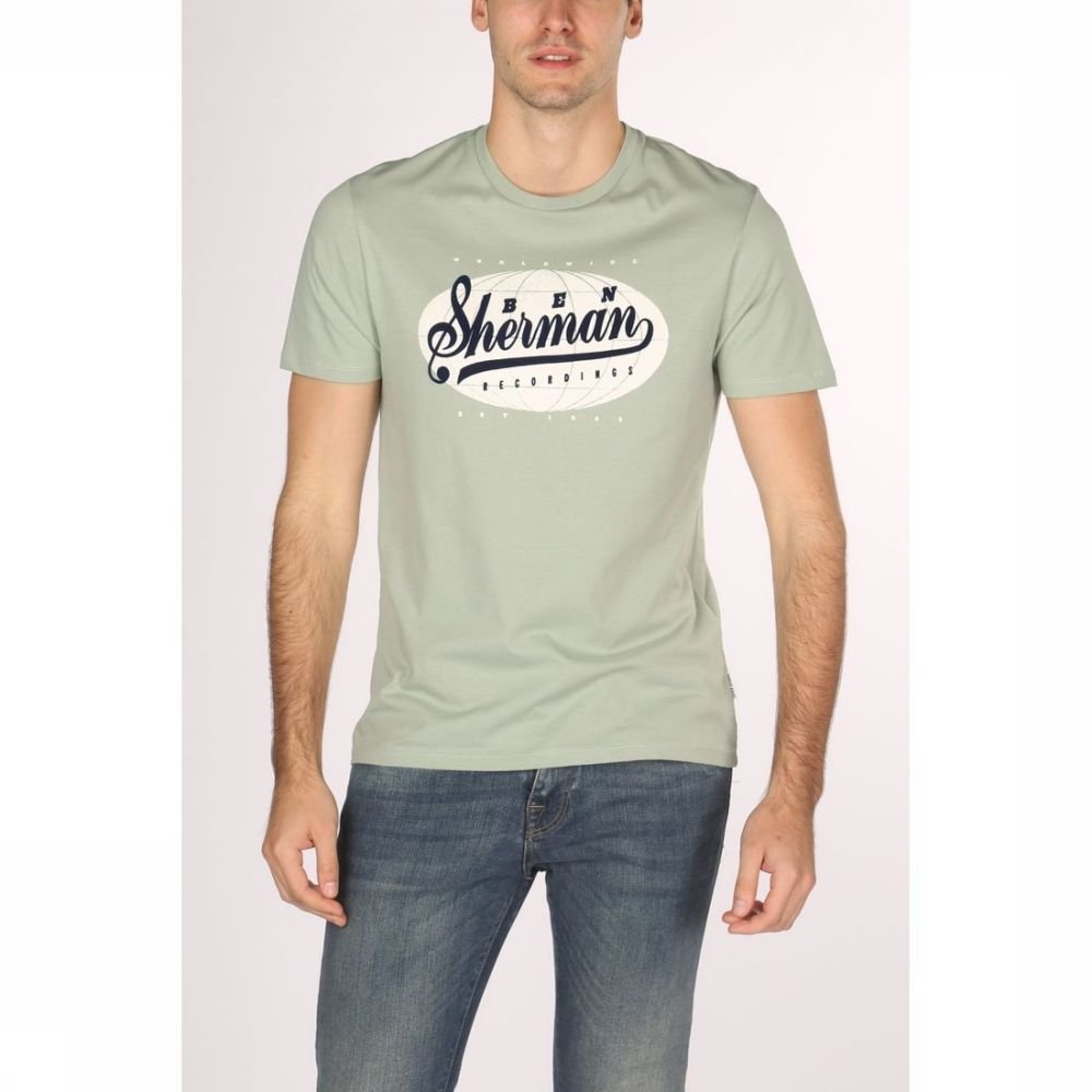 Afbeelding van Ben Sherman T-shirt 1902-ts0055973 voor heren - Groen