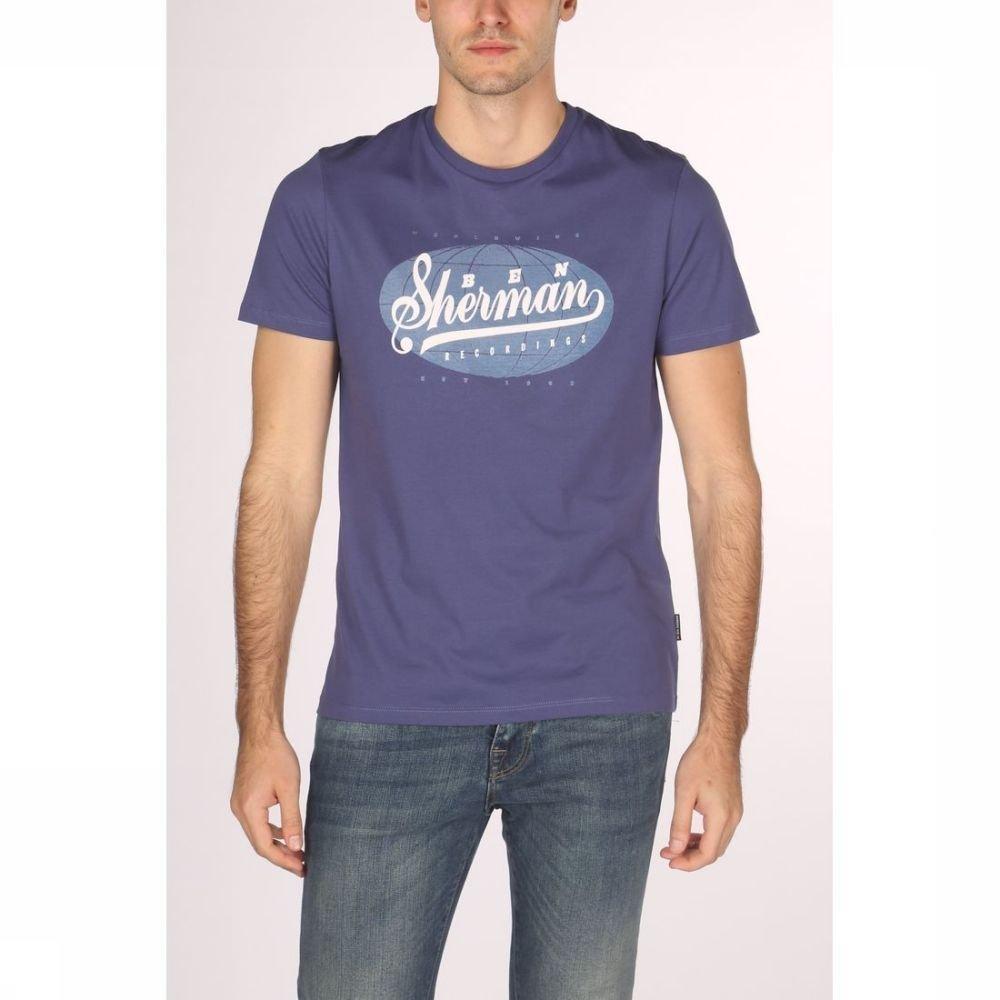 Afbeelding van Ben Sherman T-shirt 1902-ts0055973 voor heren - Blauw