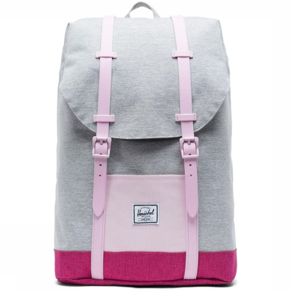 Herschel Supply Dagrugzak Retreat Youth voor kids Grijs-Roze