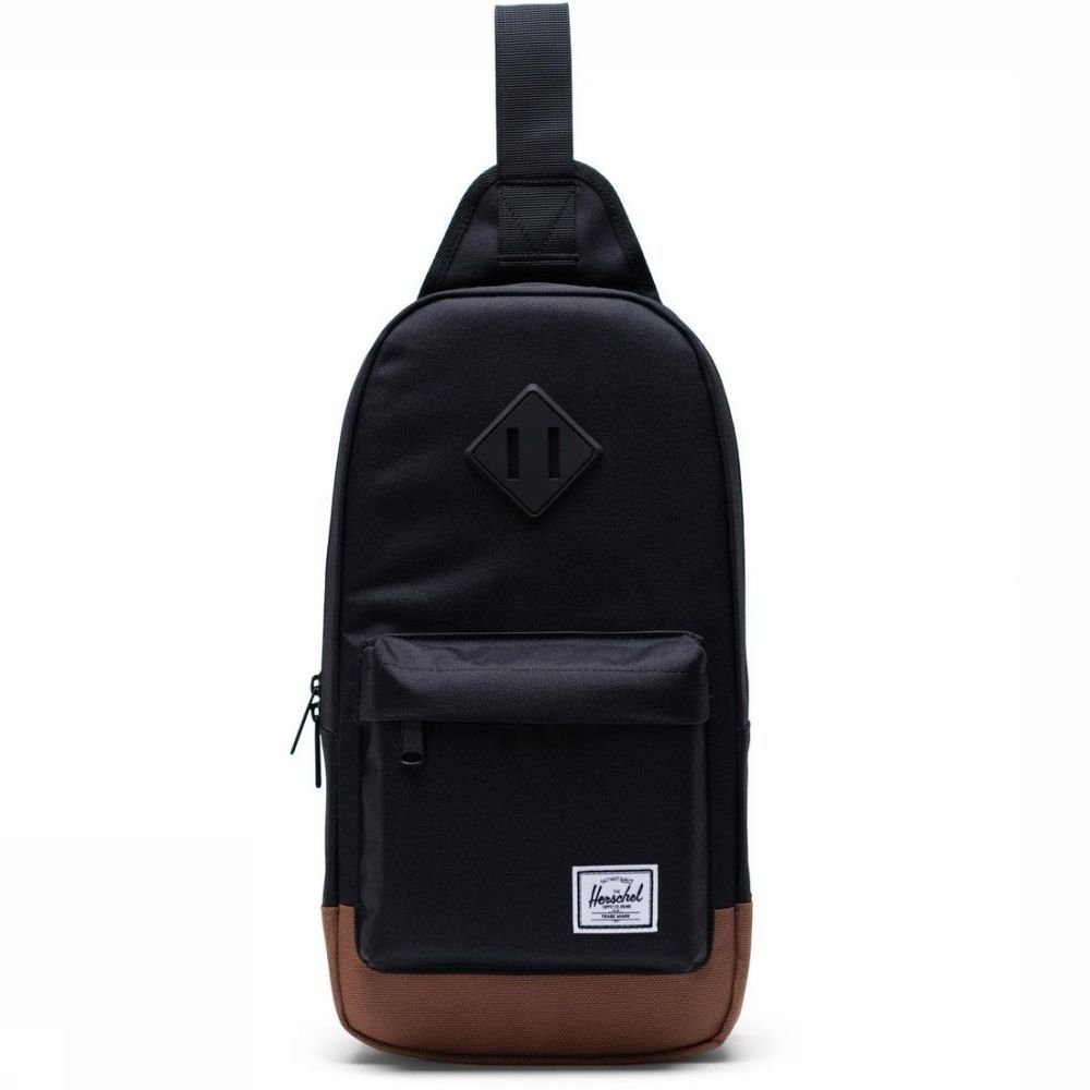 Herschel Supply Schoudertas Heritage Shoulder Bag Zwart-Bruin