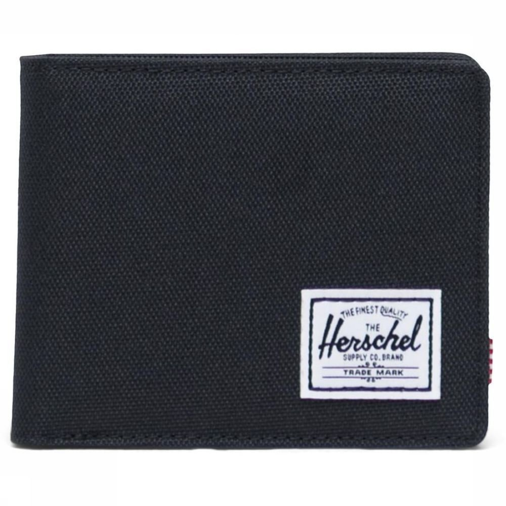 Herschel Supply Portefeuille Roy Coin Zwart Nieuwe collectie