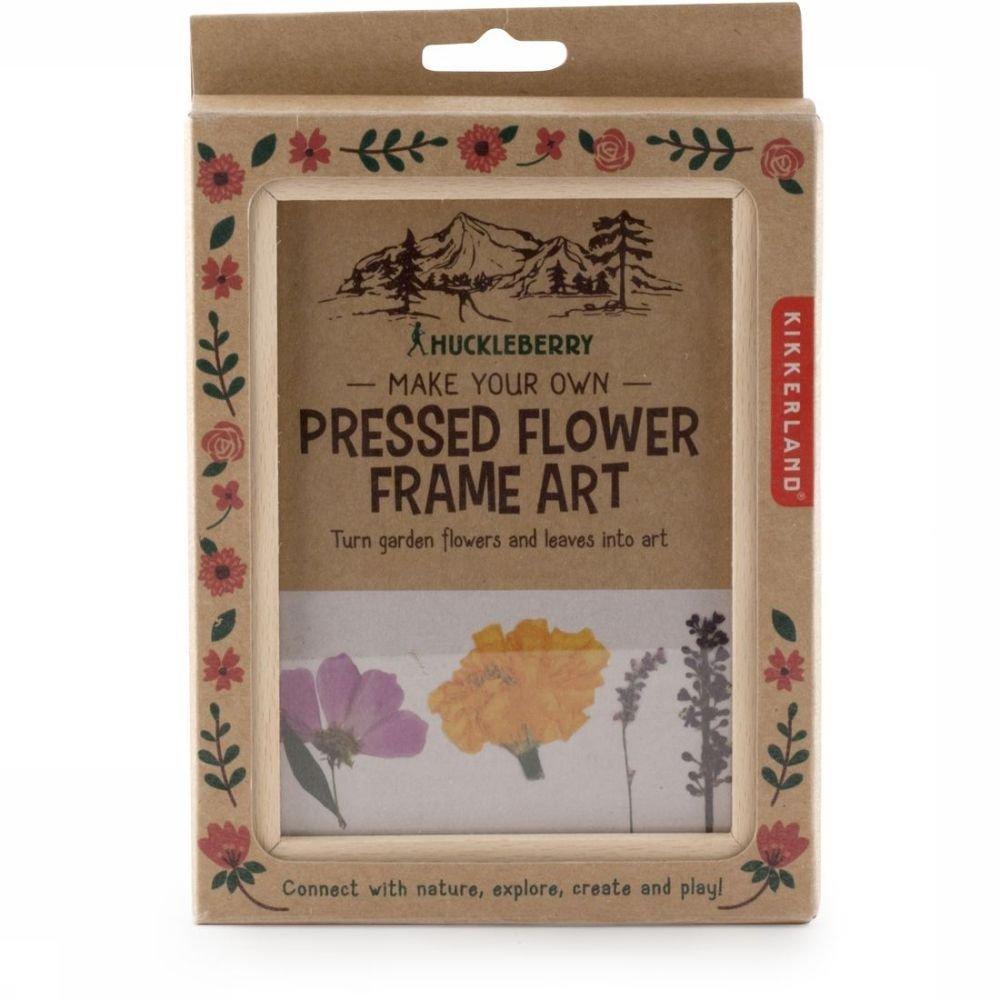 Kikkerland Gadget Hb Pressed Flower Frame Art | A.S.Adventure