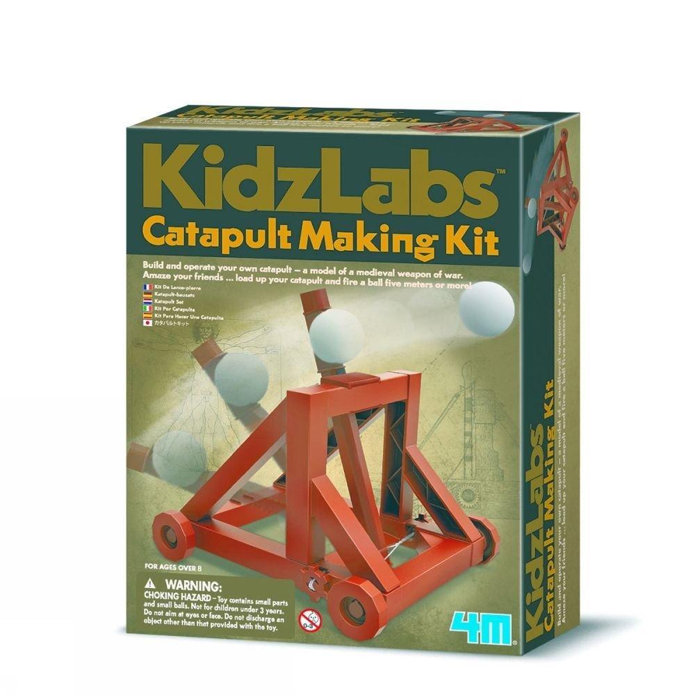 Afbeelding van 4M Spel Catapult Making Kit voor kinderen - Bruin