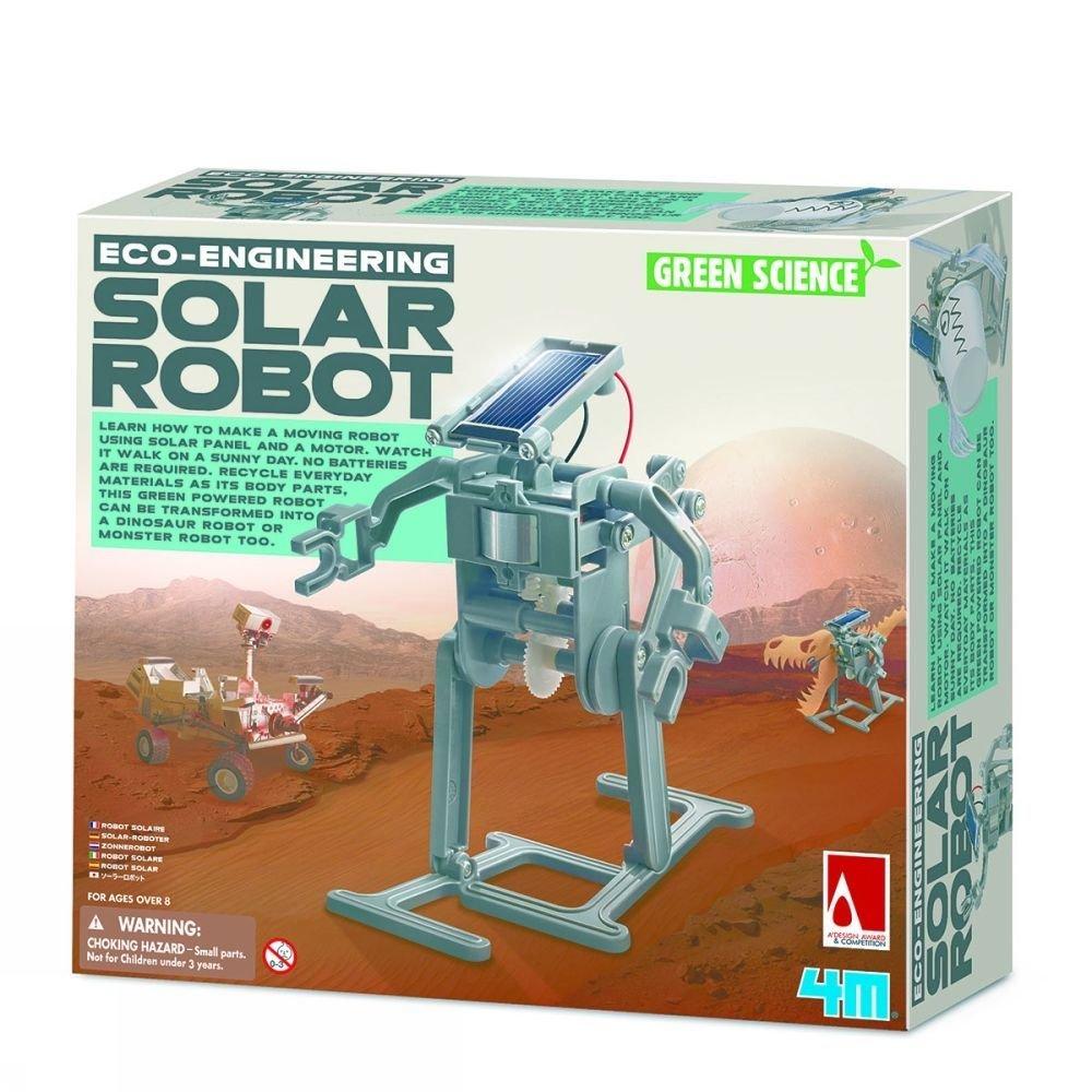 Afbeelding van 4M Spel Solar Robot voor kinderen - Grijs