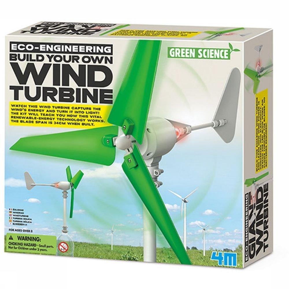 Afbeelding van 4M Spel Wind Turbine voor kinderen - Groen