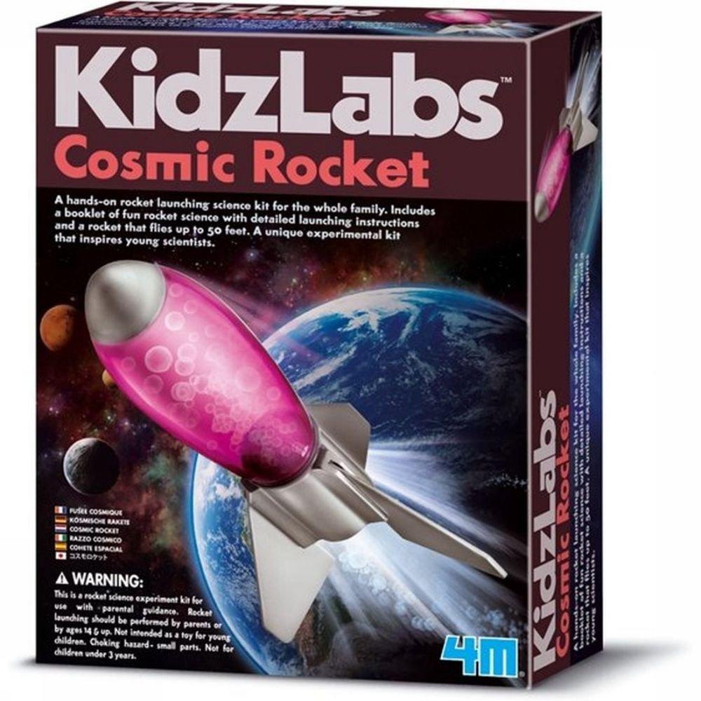 Afbeelding van 4M Spel Cosmic Rocket voor kinderen - Grijs