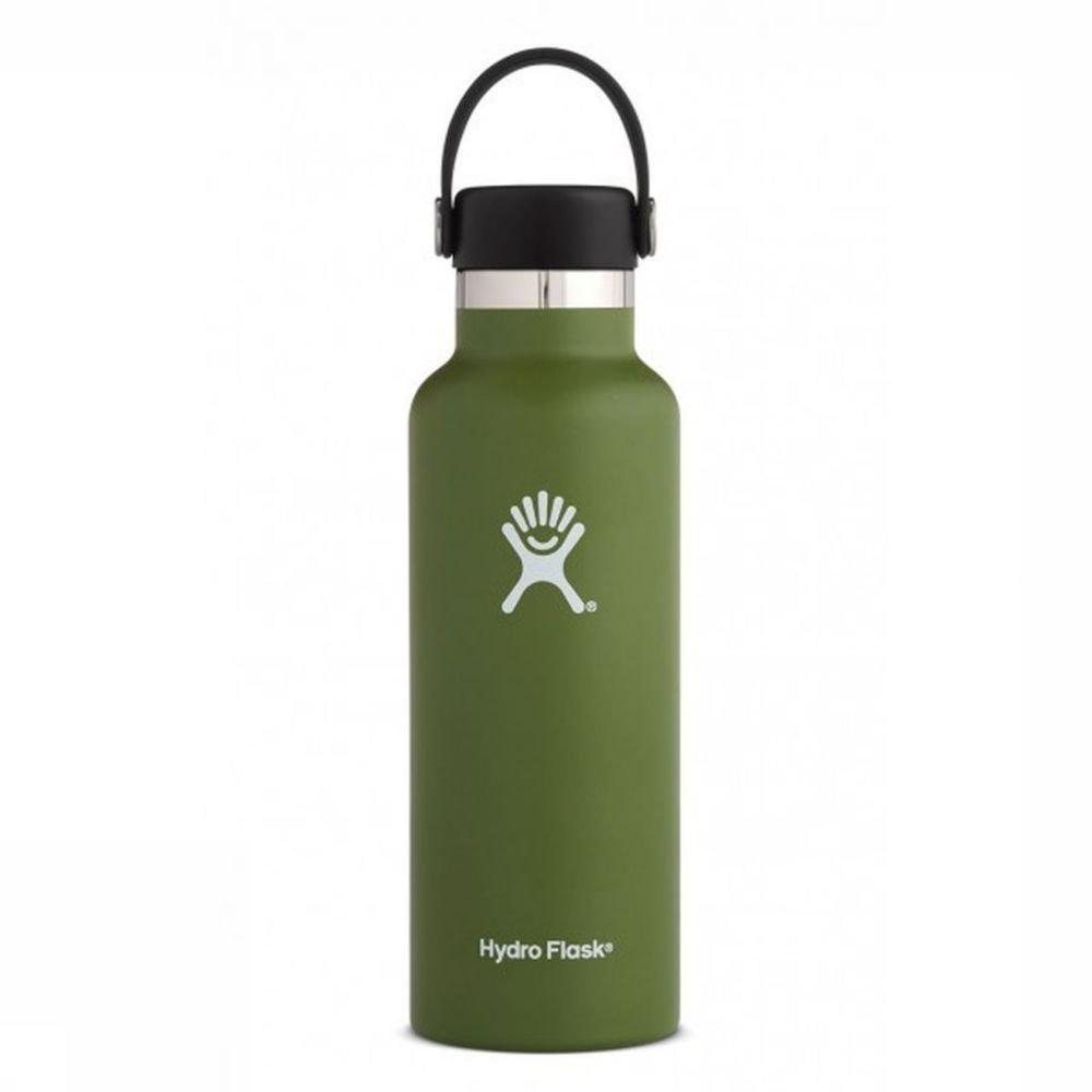 Hydro Flask Isolatiefles 18oz-532ml Standard Mouth MiddenGroen