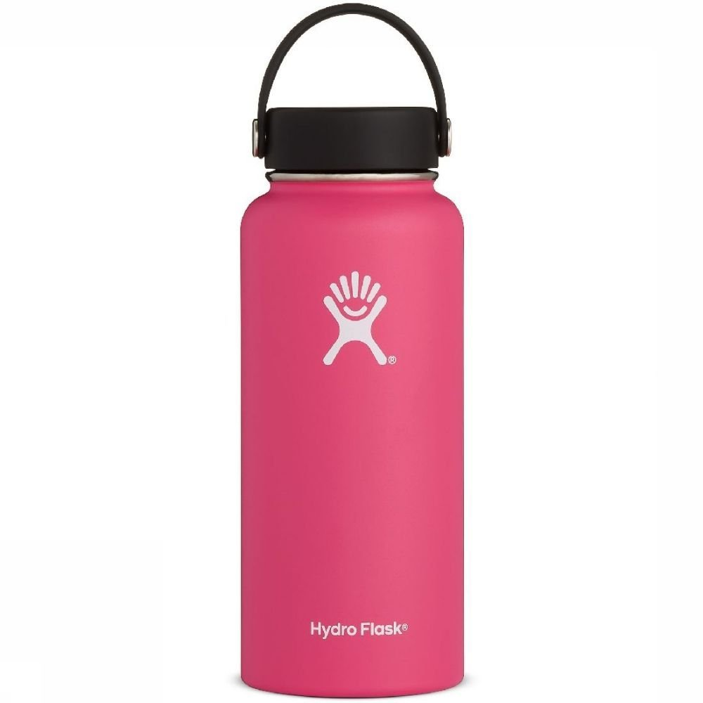 Hydro Flask Isolatiefles 32oz-946ml Wide Mouth Roze