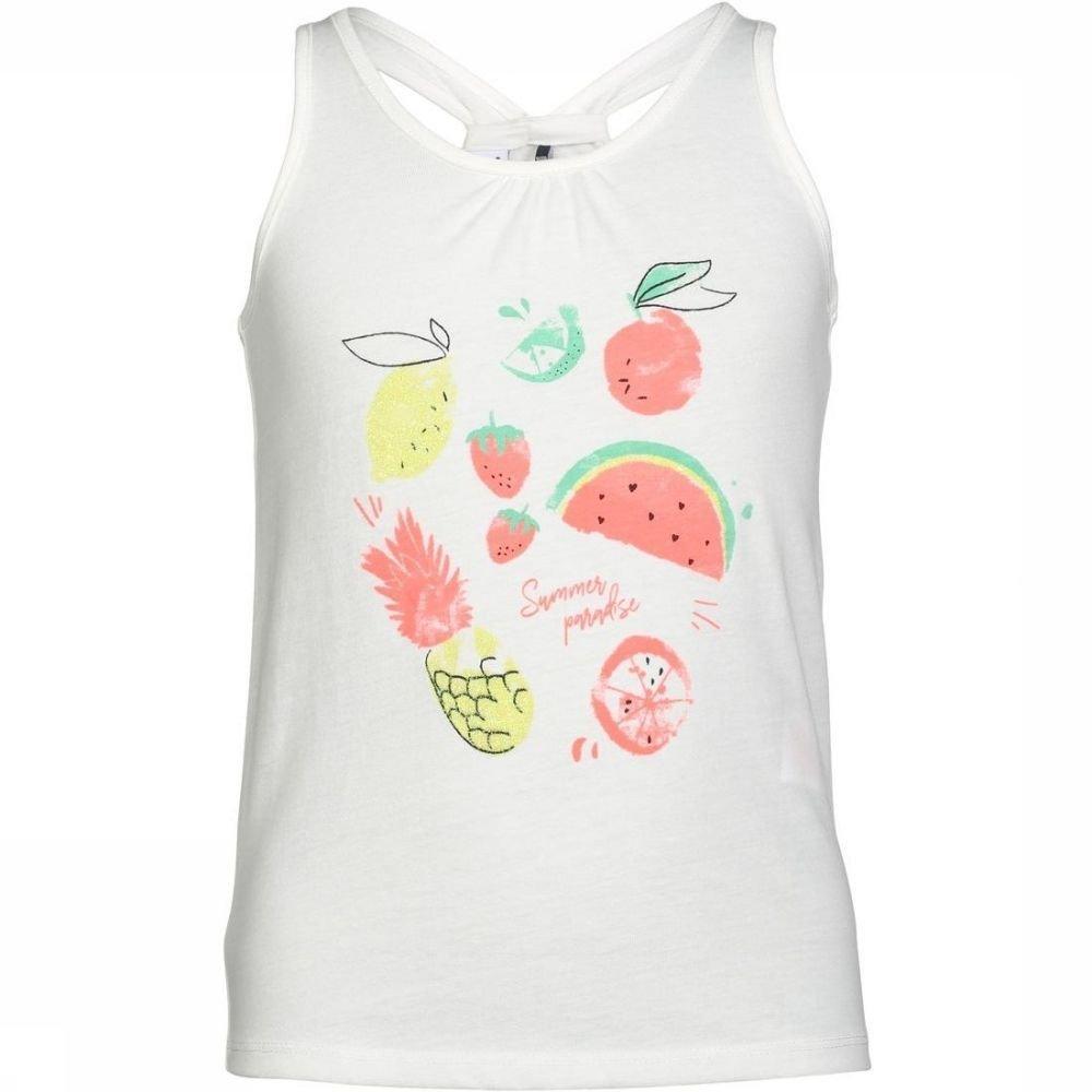 Afbeelding van 3 Pommes T-shirt Palm Spring voor meisjes - Wit