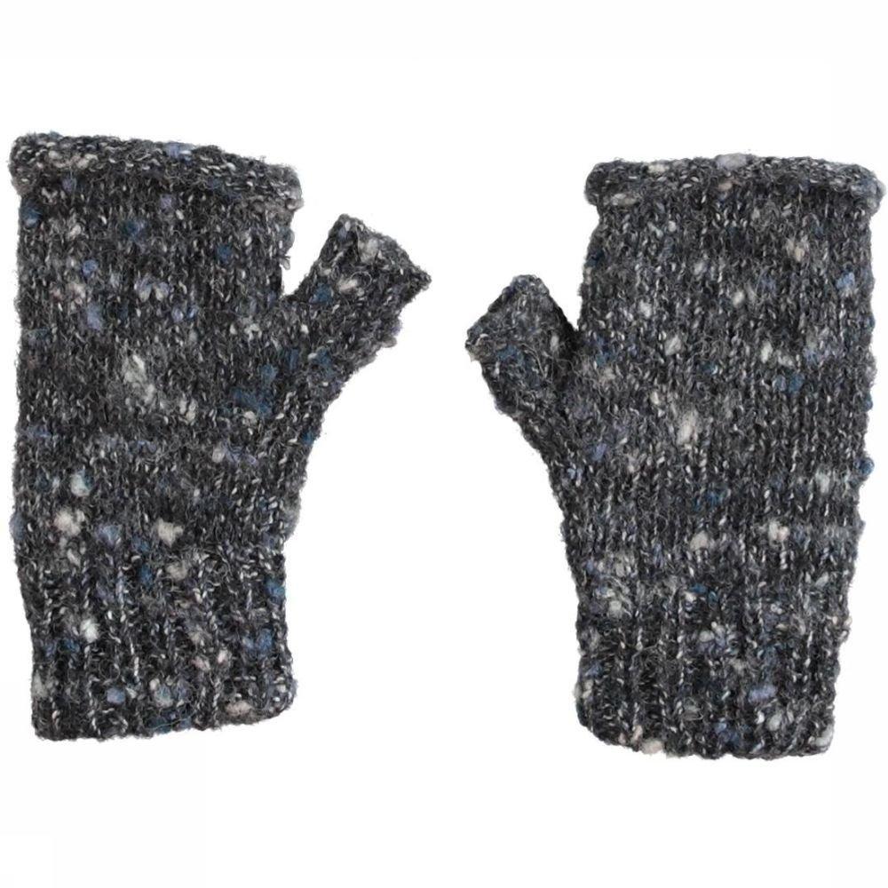 Ayacucho Handschoen Cuzco Wrist Warmer voor dames - Zwart