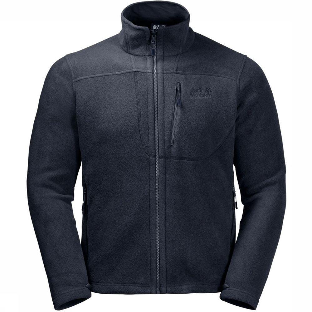Jack Wolfskin Fleece Vertigo Eco voor heren - Blauw - Maten: M, L, XL
