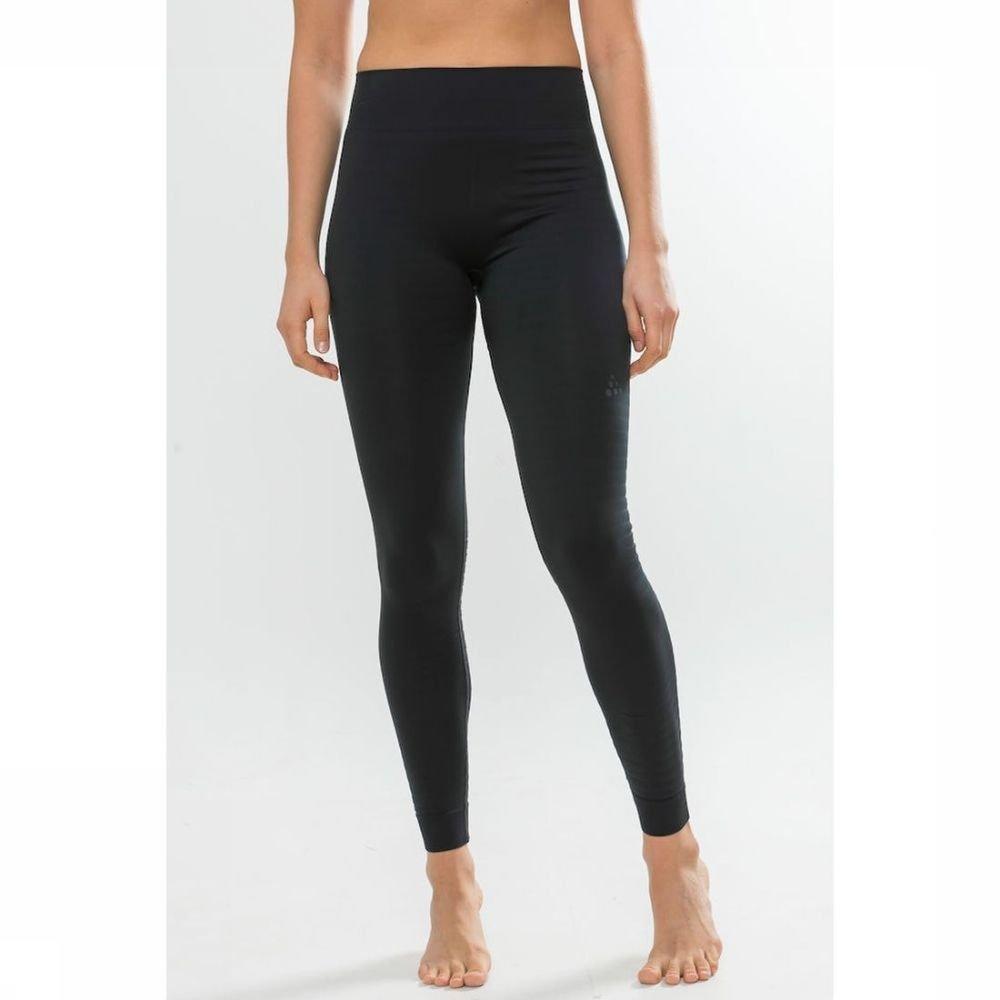 Craft Legging Warm Comfort voor dames - Zwart - Maten: XS, S, M, L, XL