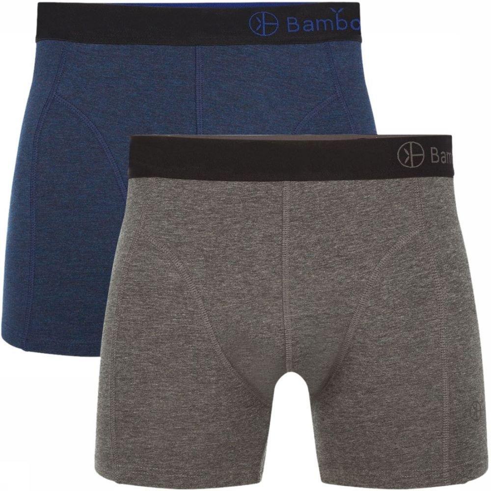 Afbeelding van Bamboo Basics Ondergoed Levi (2-pack) voor heren - Blauw