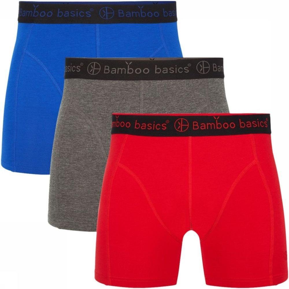 Afbeelding van Bamboo Basics Ondergoed Rico (3-pack) voor heren - Blauw