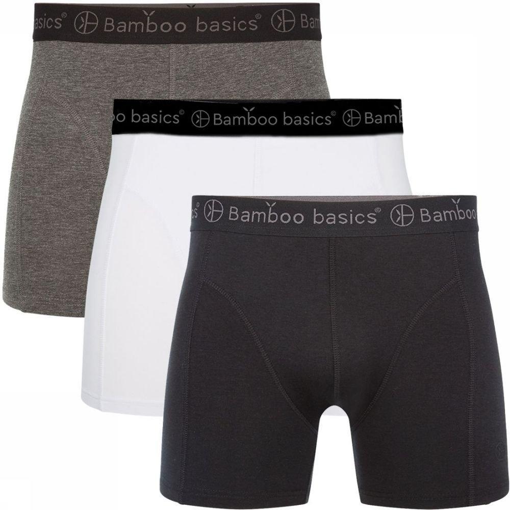 Afbeelding van Bamboo Basics Ondergoed Rico (3-pack) voor heren - Zwart
