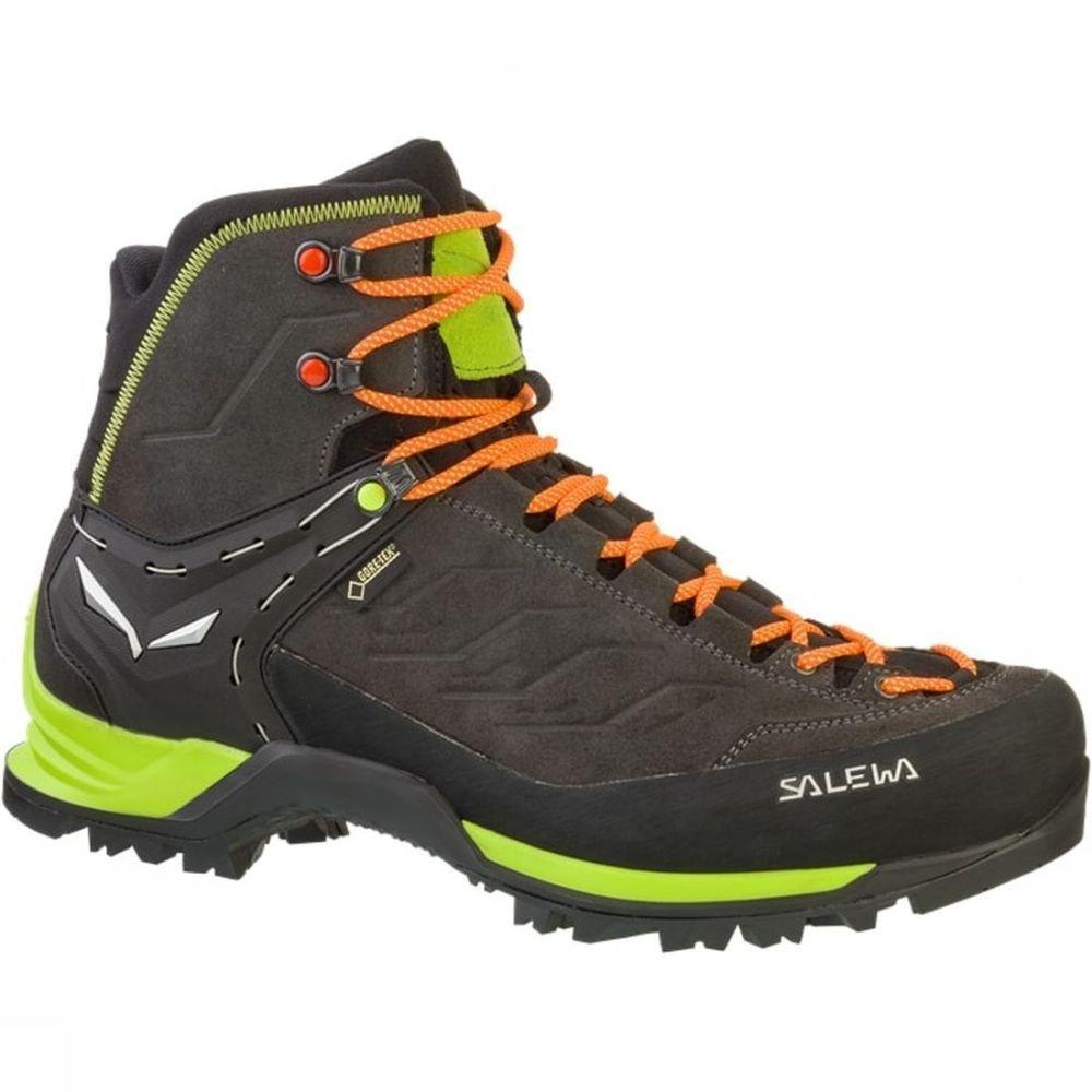 Chaussure Salewa Montagne Entraîneur Mid Gore-tex Hommes - Noir 6uOsZ1Yu