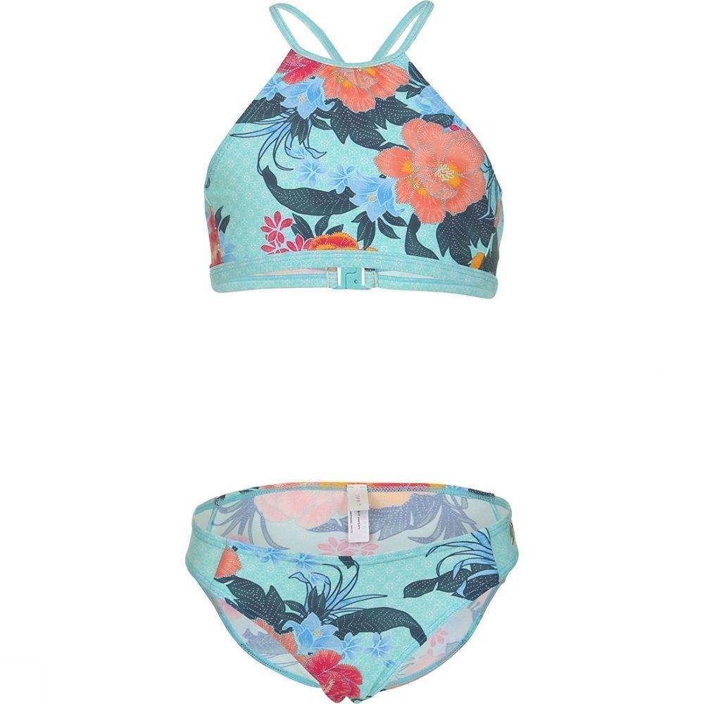 Esprit Bikini Peony Neckholder+brief voor meisjes - Blauw - Maten: 128, 152, 164, 176 - Sale