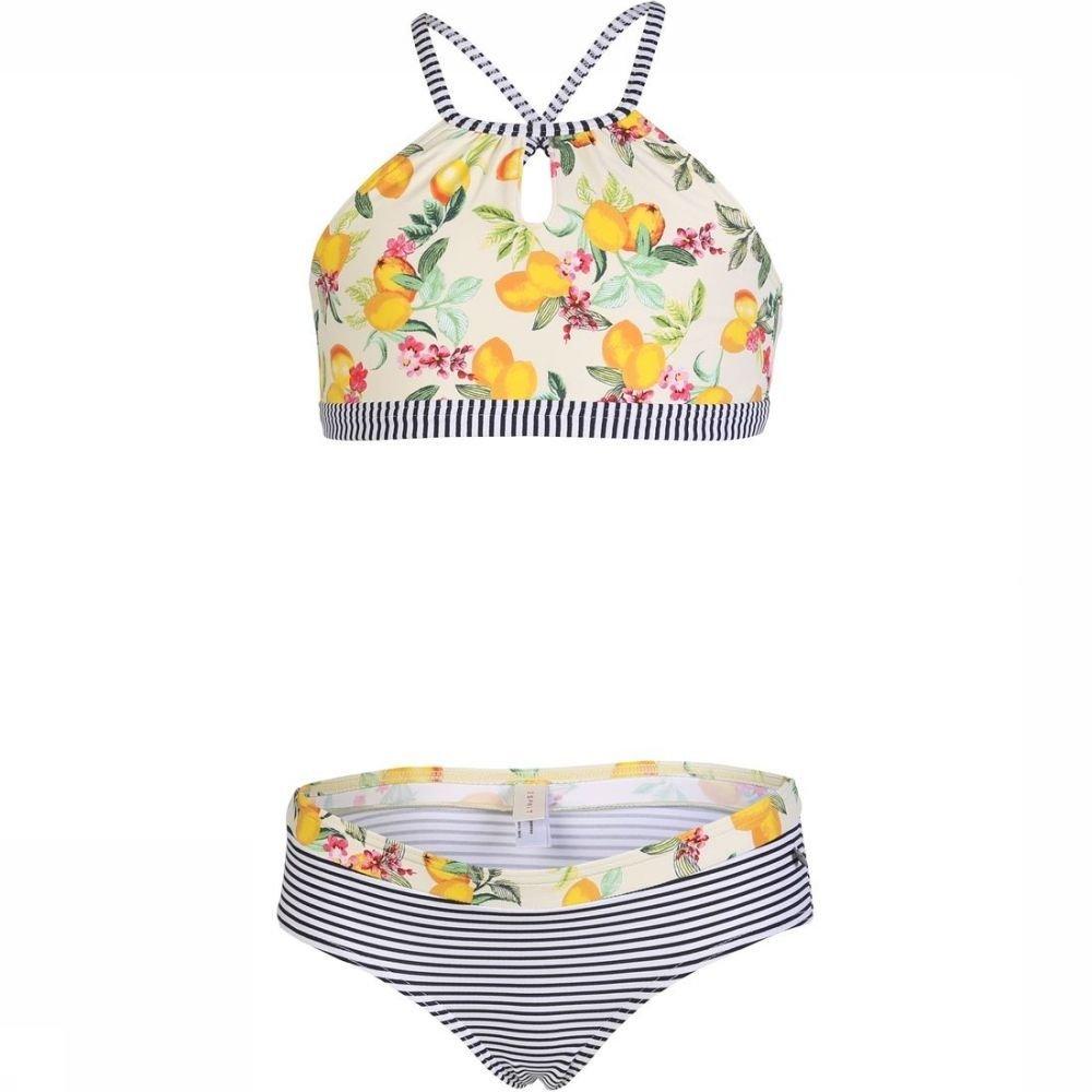 Esprit Bikini Panama Beach American Neckholder + Hipster voor meisjes - Geel - Maat: 140