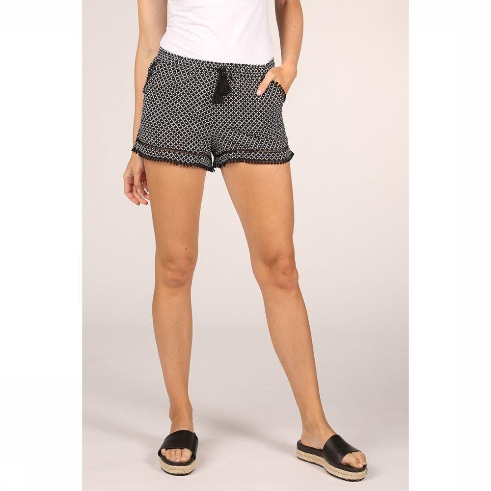 Esprit Short Daytonah Beach Short voor dames - Zwart - Maten: XS, S