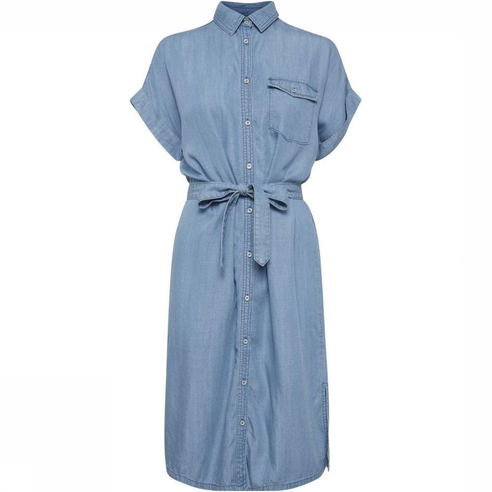 Afbeelding van B.Young Jurk Bylana Shirt voor dames - Blauw