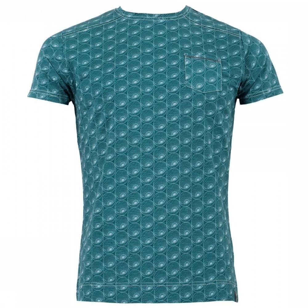 Afbeelding van 4funkyflavours T-shirt Got A Good Feeling voor heren - Groen
