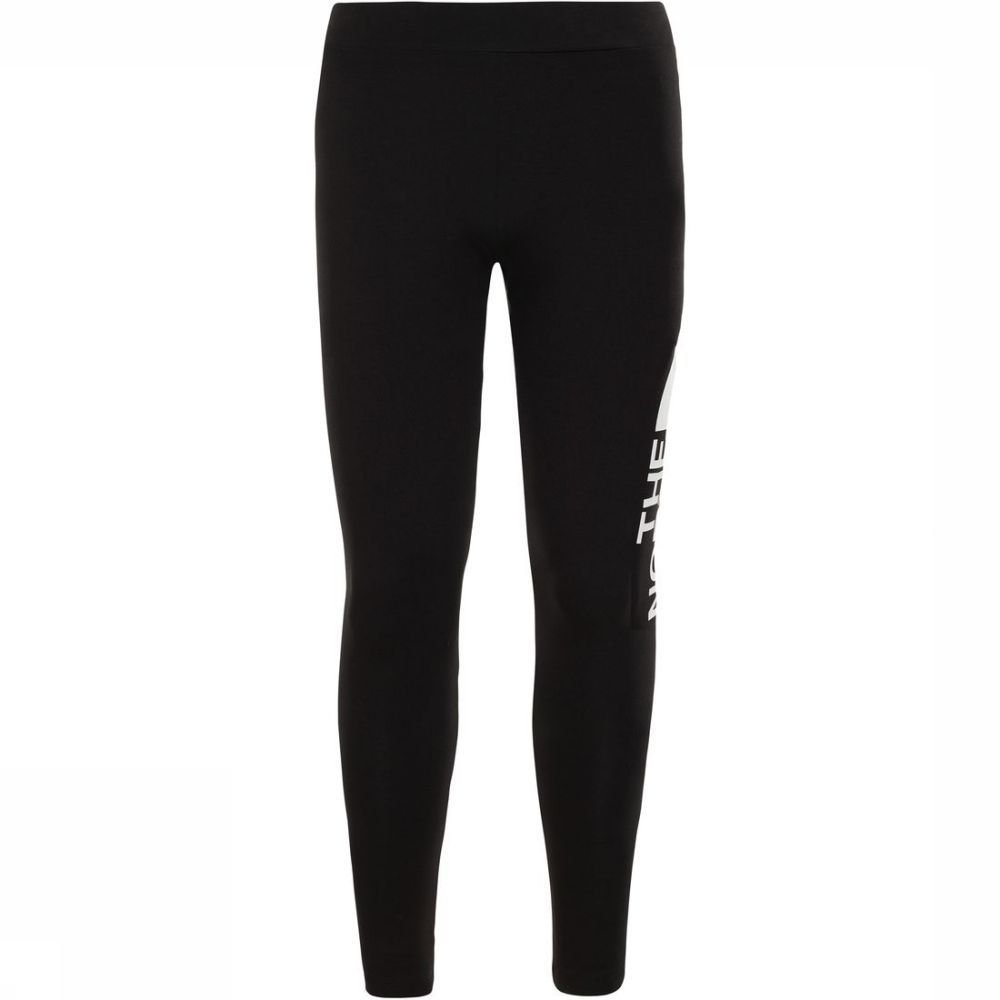 The North Face Broek Cotton Blend Legging voor meisjes - Zwart/Wit - Maten: 128, 140, 152, 164, 176