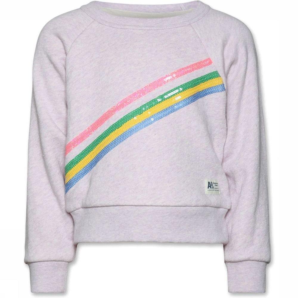 Afbeelding van AO76 Trui Sweater Stripe voor meisjes - Roze - 128