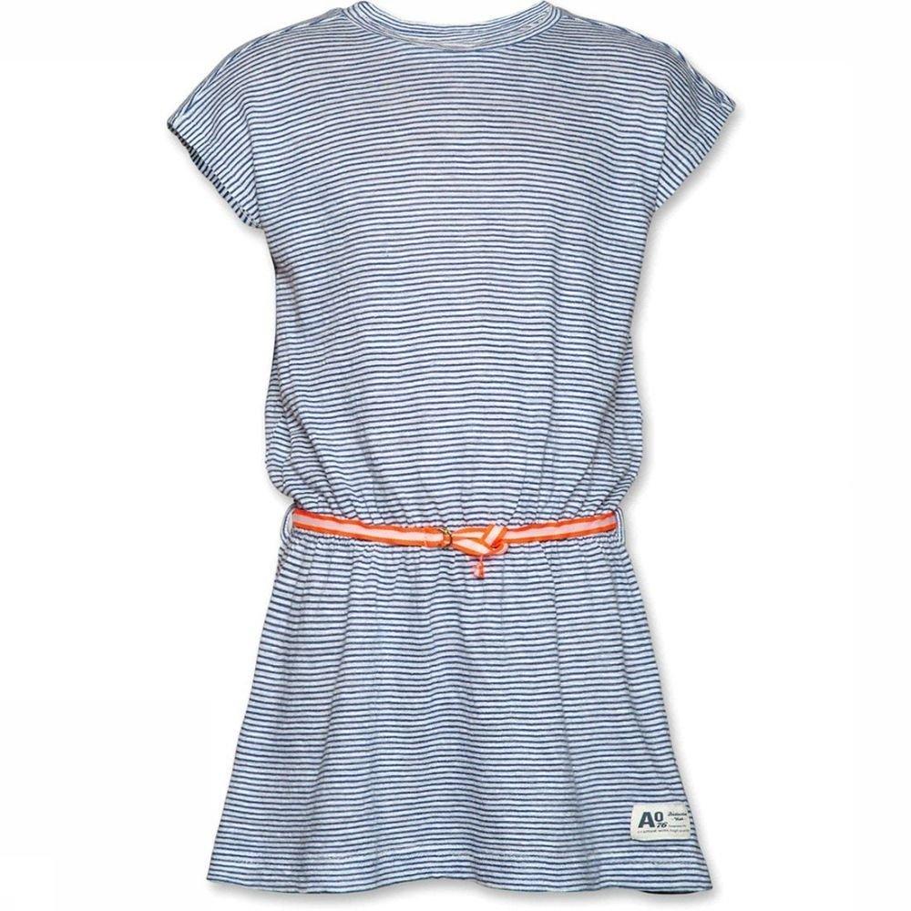 Afbeelding van AO76 Jurk Striped voor meisjes - Blauw