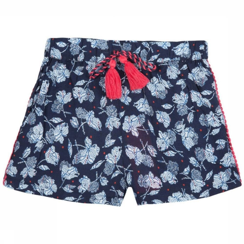Afbeelding van 3 Pommes Short Happy Coral voor meisjes - Blauw