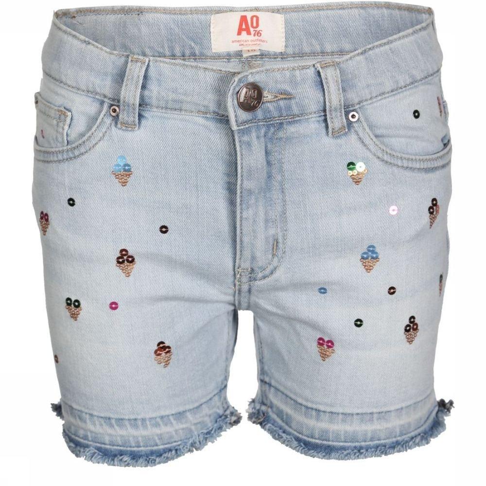 Afbeelding van AO76 Short Kelly Icecream voor meisjes - Blauw - 164