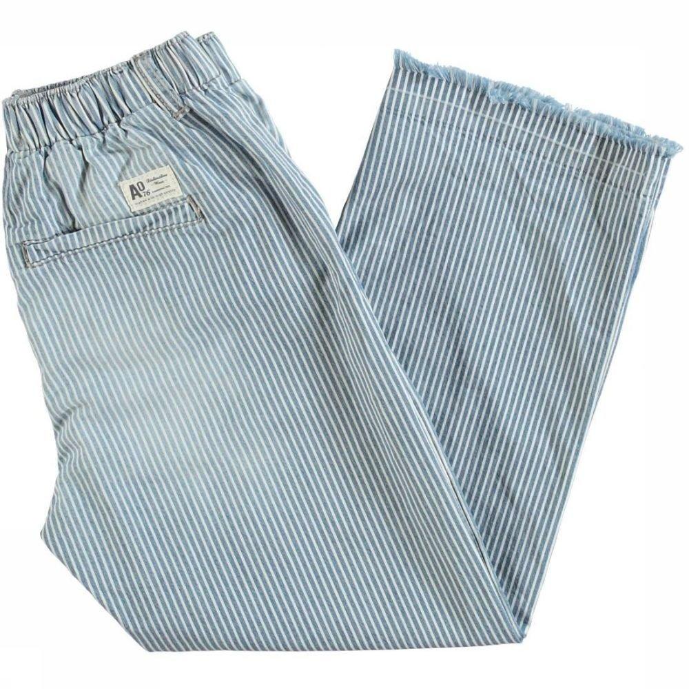 Afbeelding van AO76 Jeans Ellen Stripe voor meisjes - Blauw