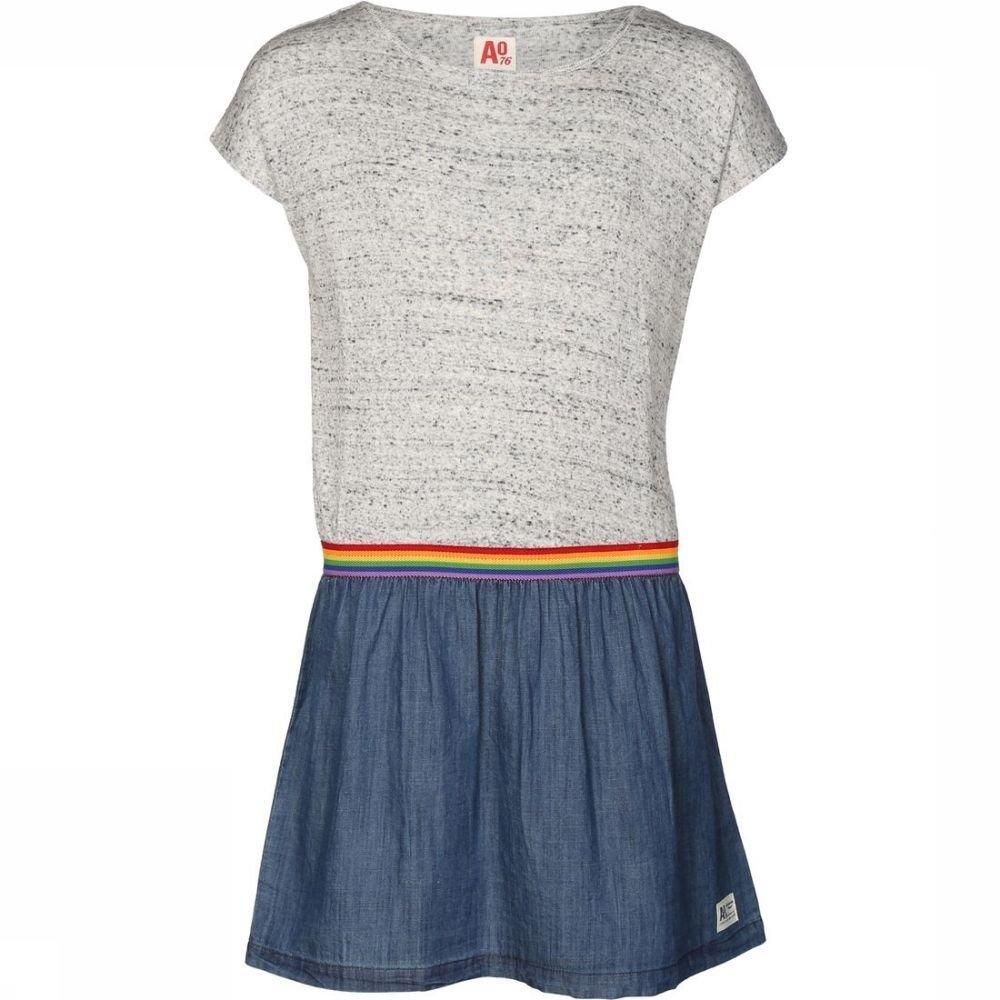 Afbeelding van AO76 Jurk Jeans voor meisjes - Blauw