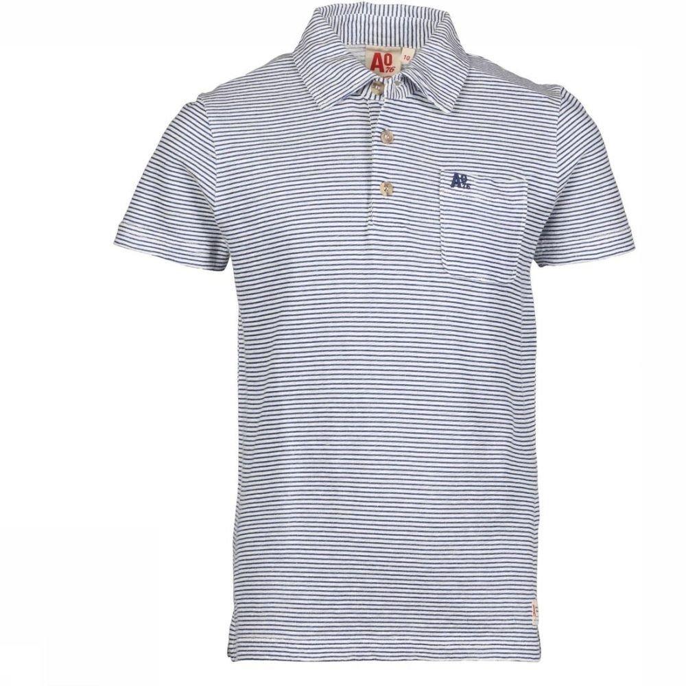 Afbeelding van AO76 Polo Polo Striped voor jongens - Blauw