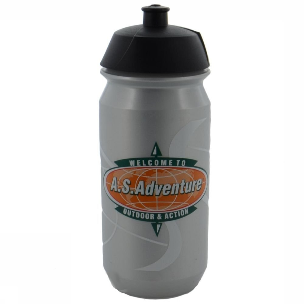 Afbeelding van A.S.Adventure Bidon Tacx Shiva 500cc A.s.logo - Grijs