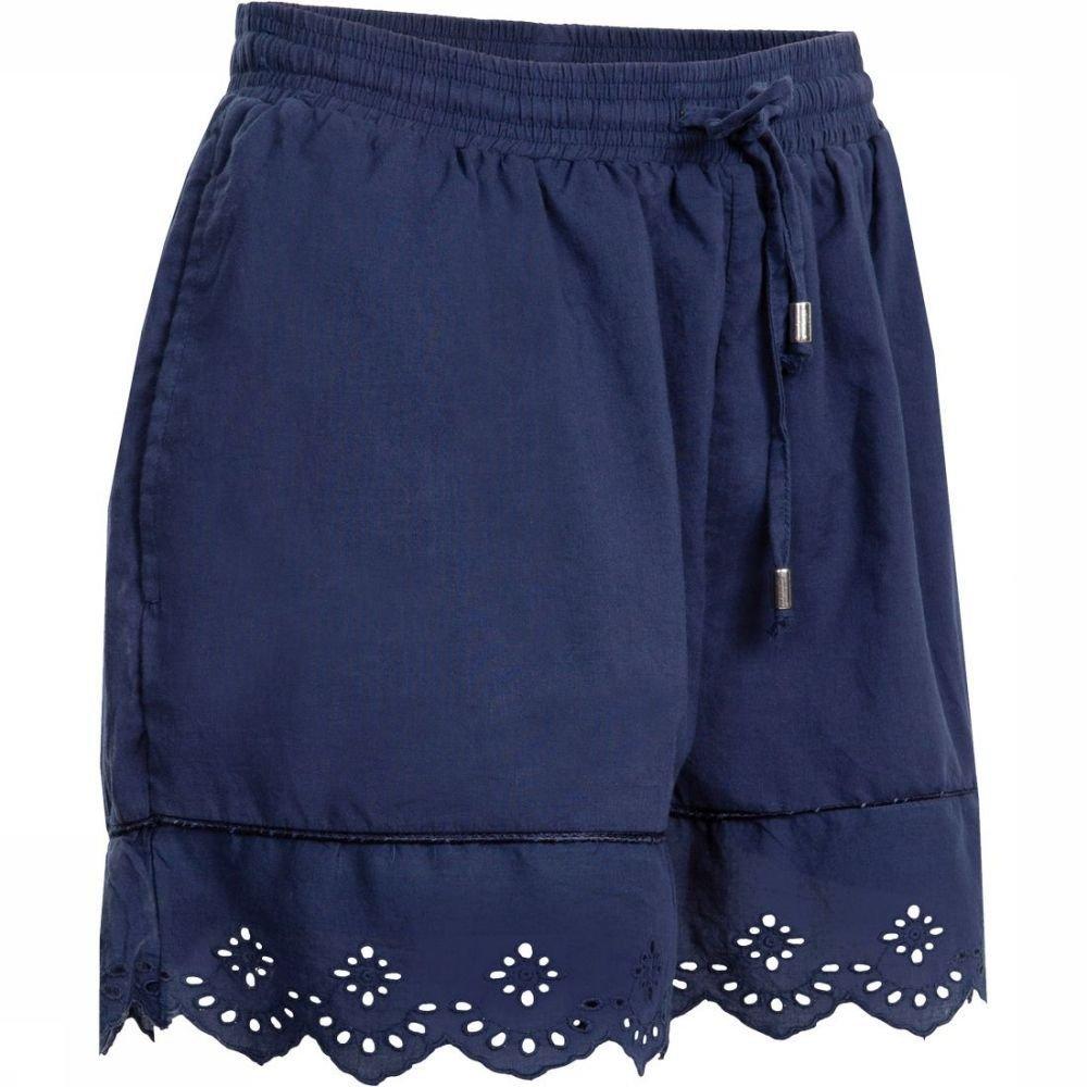 Superdry Lace Broderie Short voor dames - Blauw - Maten: XS, S, M, L