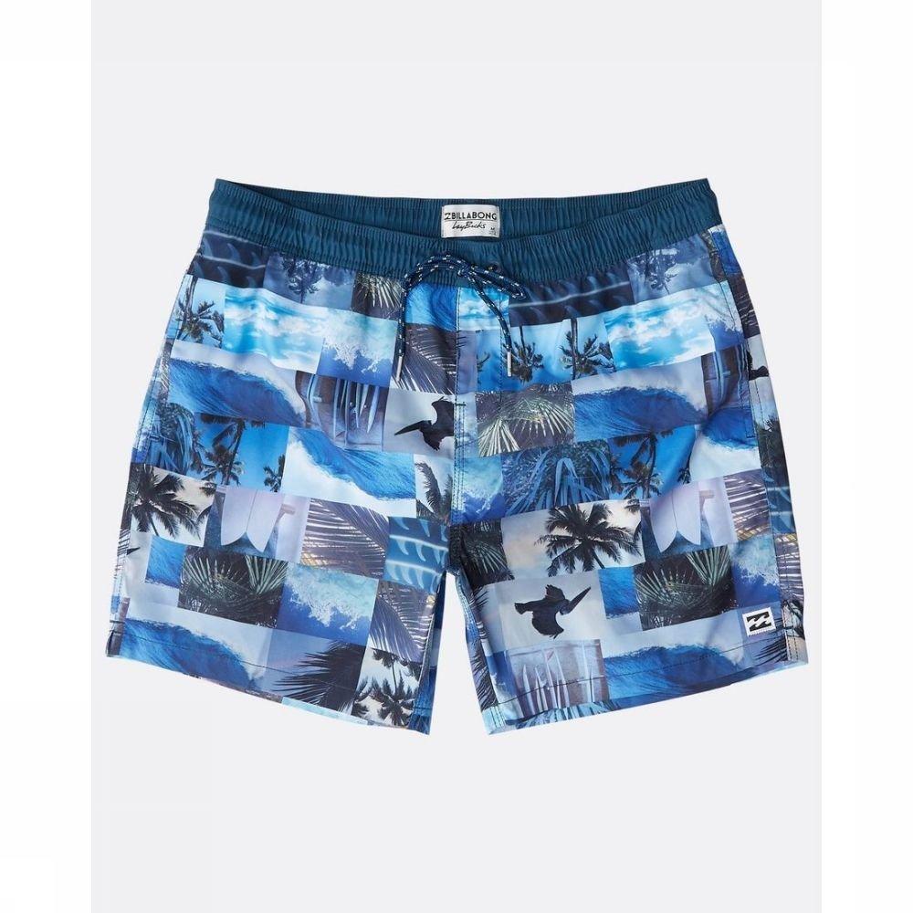 Afbeelding van Billabong Zwemshort Sundays voor heren - Blauw