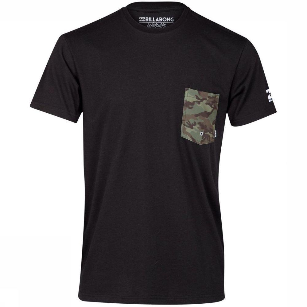 Afbeelding van Billabong Uv-kleding Team Pocket Tee voor heren - Zwart