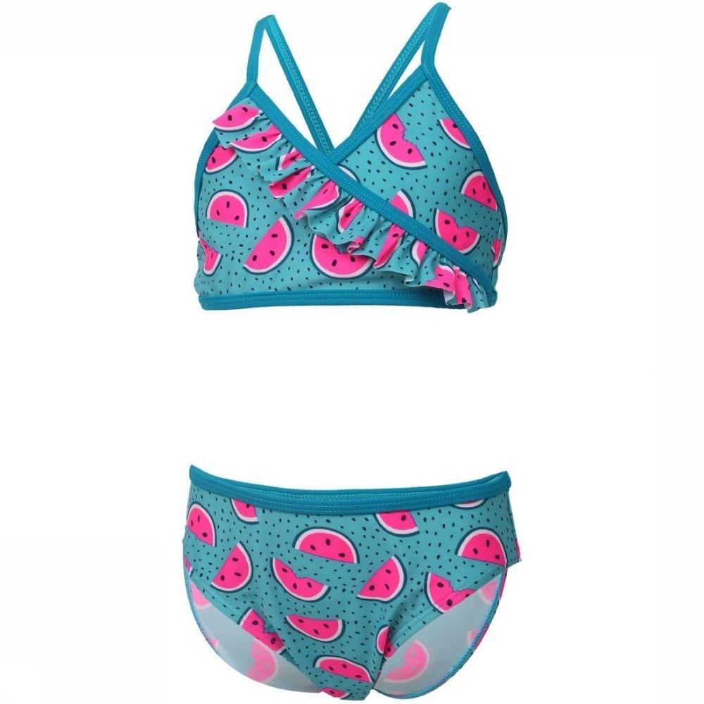 Color Kids Bikini Nilje voor meisjes - Blauw/Roze - Maat: 104 - Sale