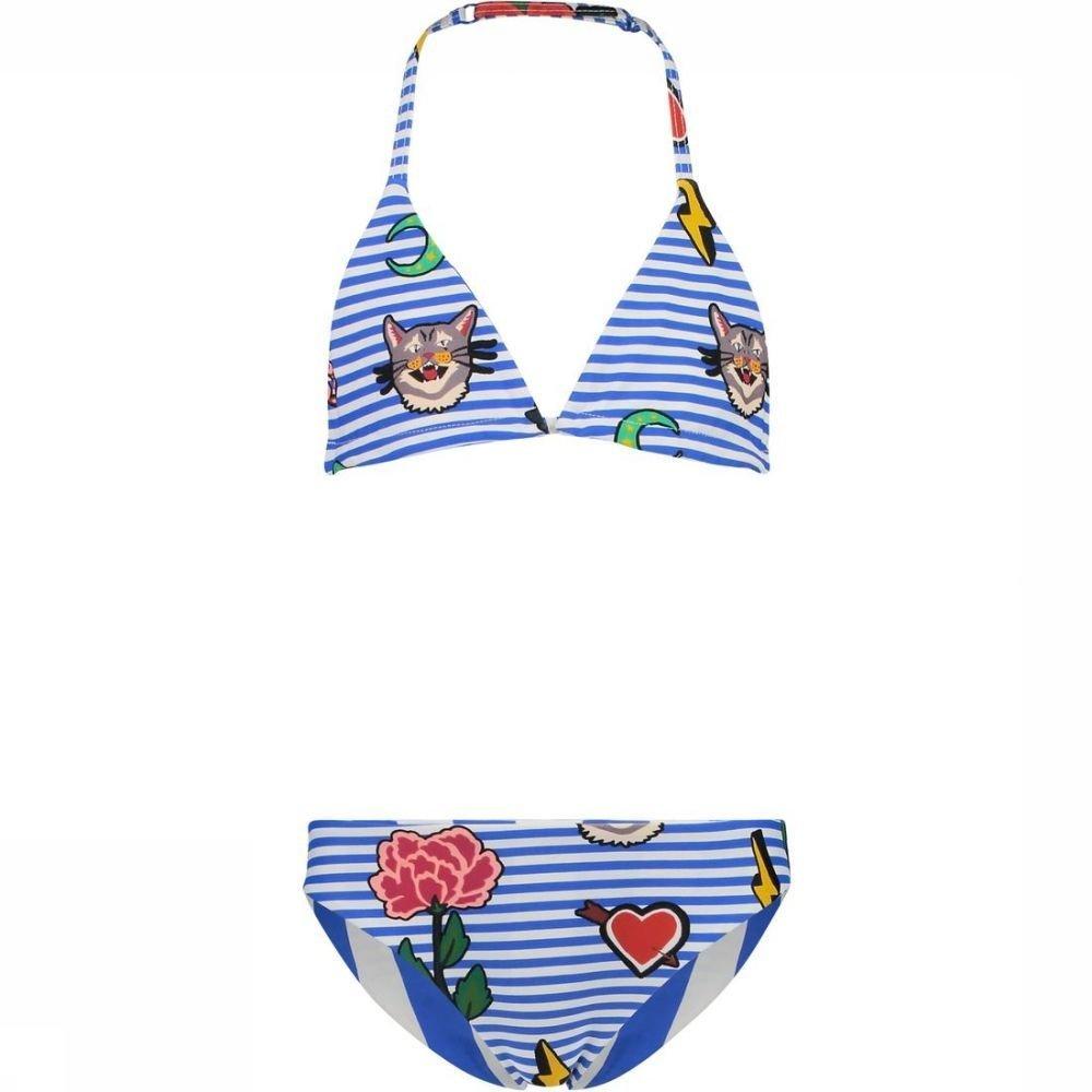 Shiwi Bikini Triangle Ref Rockstar voor meisjes - Blauw - Maten: 128, 140, 152, 164 - Sale