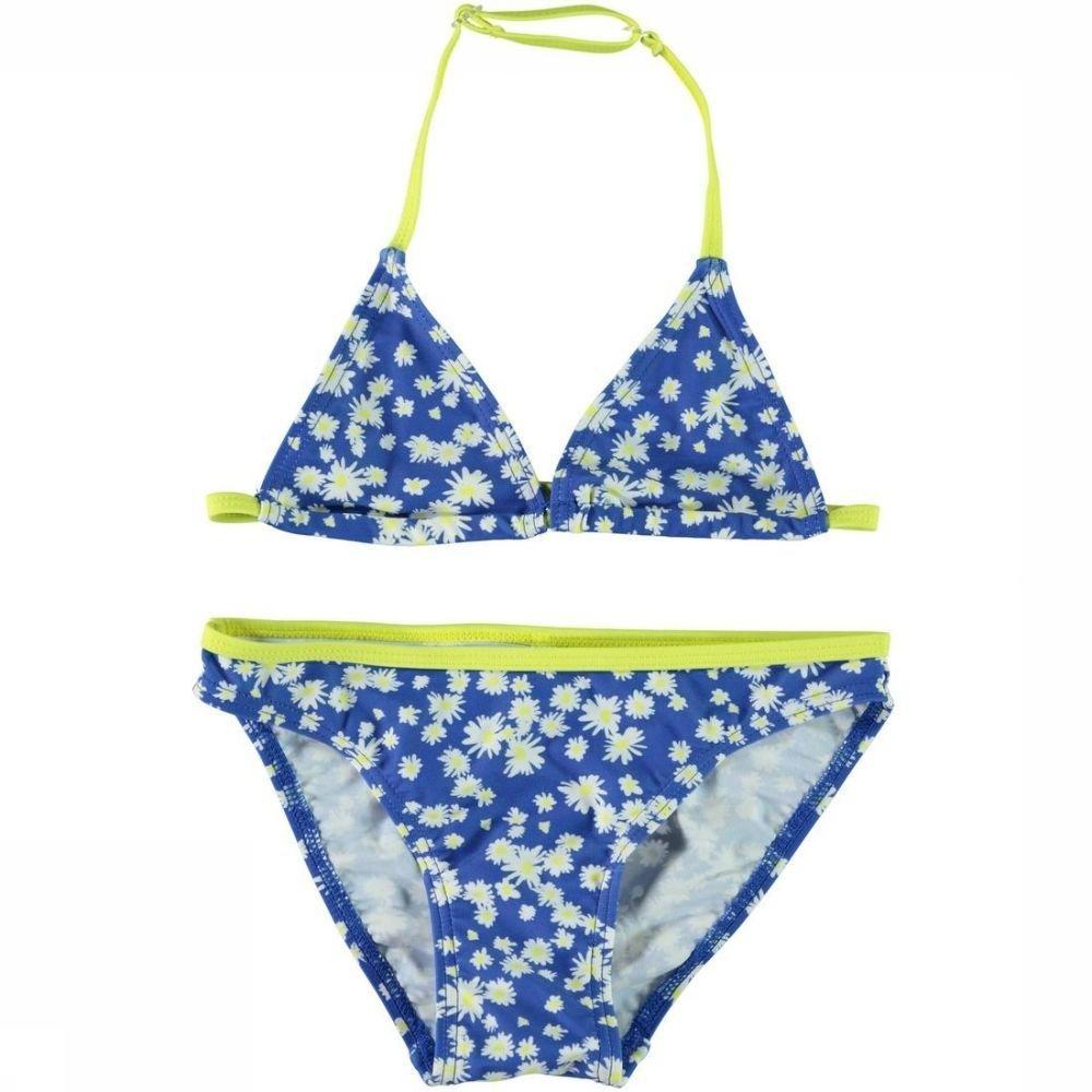Name It Tankini Zummeru Triangle voor meisjes - Blauw - Maten: 116, 128, 140, 152, 164 - Sale