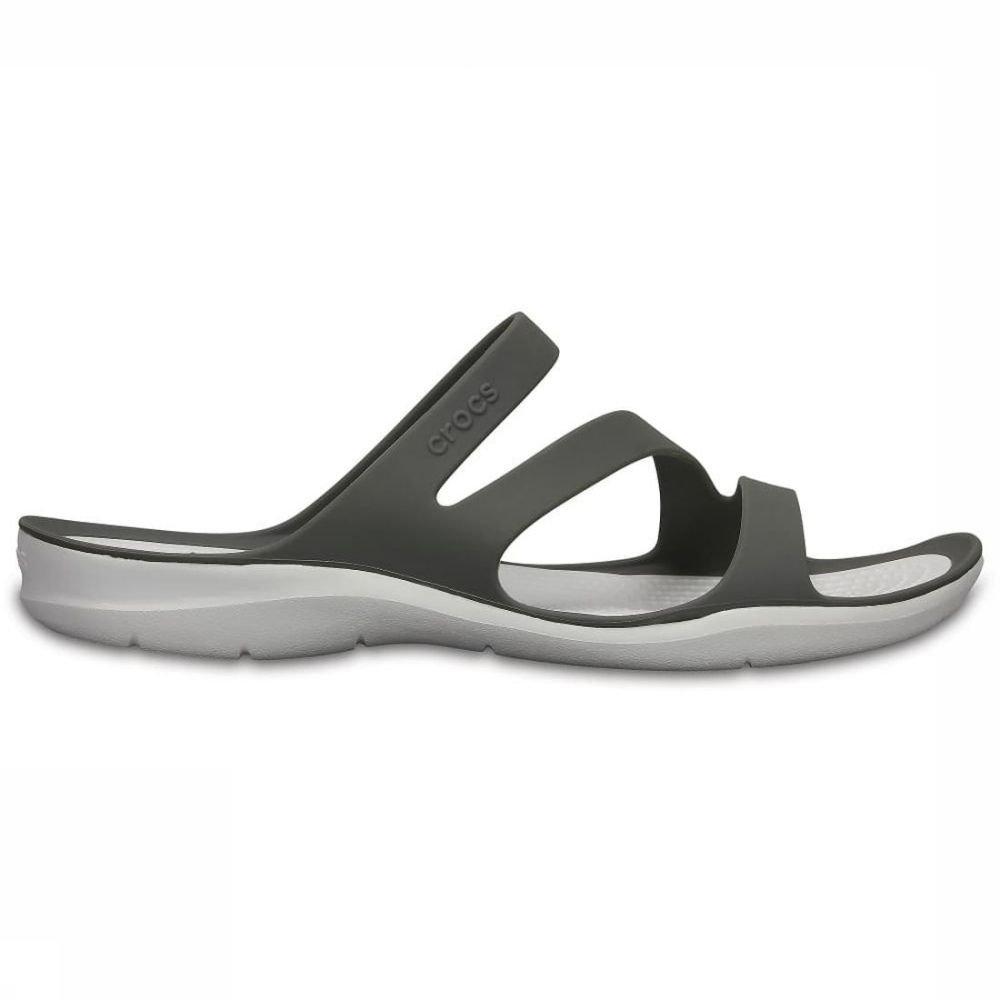 Crocs Slipper Swiftwater Sandal W voor dames Wit-Grijs Maten: 36-37, 37-38, 41-42