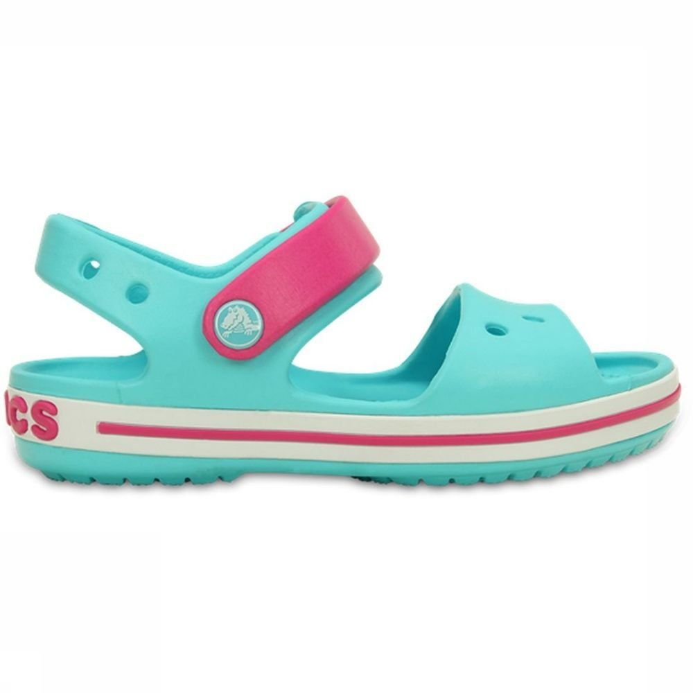 Crocs Sandaal Croc voor kids Blauw-Roze Maten: 22-23, 23-24, 24-25, 25-26, 27-28, 28-29
