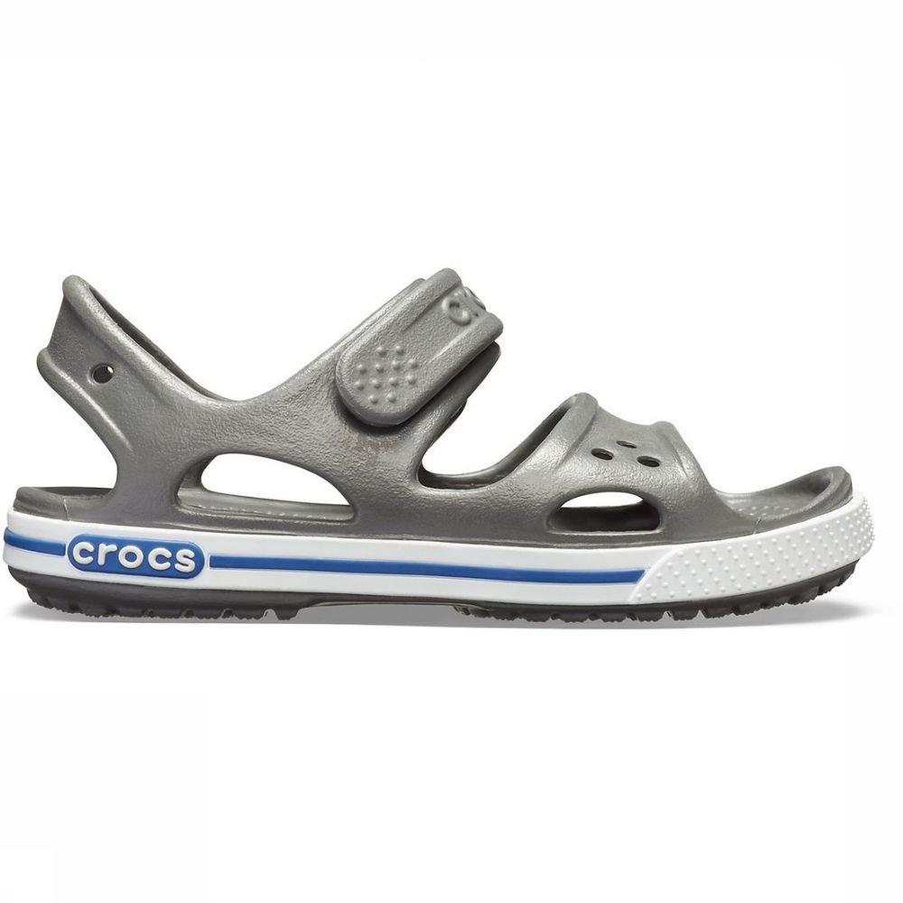 Crocs Slipper Crocband 2 voor kids Grijs Maten: 22-23, 23-24, 24-25, 25-26, 27-28, 28-29